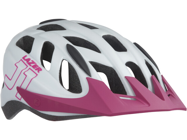 Lazer J1 Helmet mit Insektenschutznetz Kinder matte white-pink